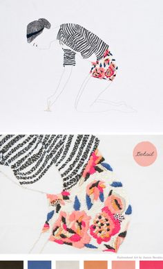 i've pinned this before, but didn't notice the embroidery detail {by jazmin berakha}