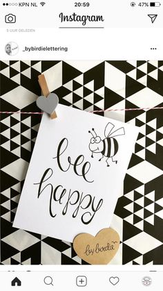 Bee happy @emmagw