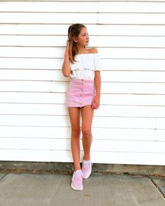 Cute Girl Outfits, Cute Summer Outfits, Cute Young Girl, Cute Girls, Young Fashion, Kids Fashion, Annie Rose Cole, Annie And Hayden, Brooklyn And Bailey
