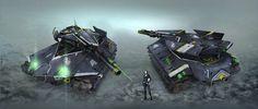Stealth Tank by kianchai on DeviantArt