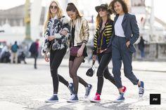 Magda Nilson, Claire Pallard, Lea Rostain and Eglantine Alo