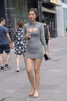Wetsuit, Mini Skirts, Bodycon Dress, Dresses With Sleeves, Long Sleeve, Swimwear, Beautiful, Street Styles, Fashion