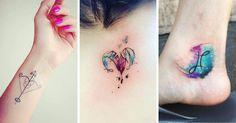 Hermosos tatuajes que representan de una forma perfecta tu signo zodiacal