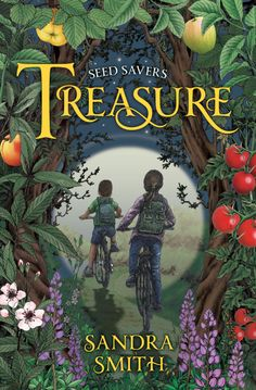 Cover for the new Seed Savers: Treasure! Available for purchase May 22, 2018