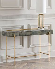 Console tables are the coolest and one of the most important pieces in a hallway. You can find inspirations in several styles since the mid-century to the contemporary style! See more luxury furniture design here www.covethouse.eu