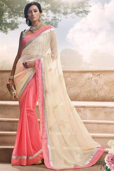 Sizzling Wedding Wear Designer Saree