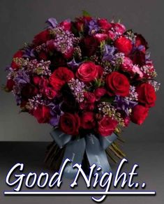 Good Night Blessings, Good Night Sweet Dreams, Good Night Image, Good Night Quotes, Floral Wreath, Blessed, Good Night, Good Evening Wishes, Floral Crown