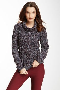Cowl Neck Chunky Sweater by See by Chloe on @HauteLook