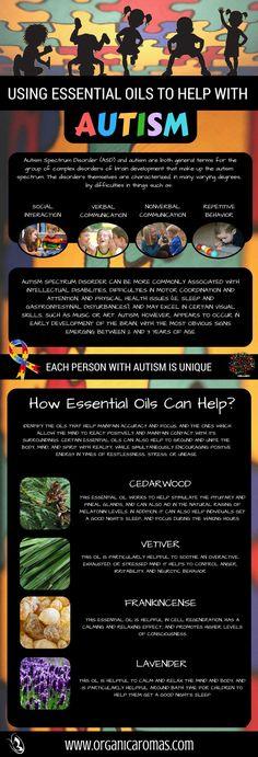 Using Essential Oils To Help With Autism - #OrganicAromas #EssentialOils #Autism