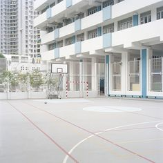 Ward Roberts' Courts 01 and Courts 02 series is a tribute to his childhood spent in Hong Kong, playing...