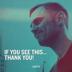Appreciate the follow ... by garyvee
