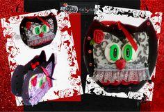 Bolsita para bombones, caramelos, café, té, serie buho San Valentin hecha en goma eva Sugar, Cookies, Creative, Desserts, Food, Candies, Jelly Beans, Manualidades, Crack Crackers