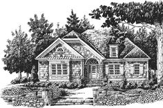 18 Small House Plans: The Maple Ridge, Plan #442