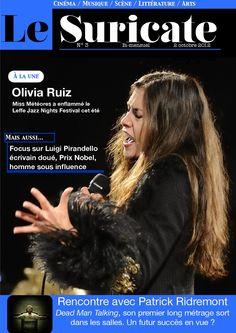 Le Suricate - Troisième numéro  L'e-Magazine culturel en francophonie !