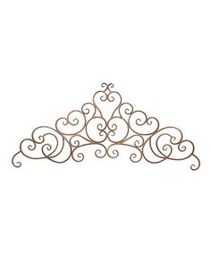 Metal Scroll Wall Art   Antique Silver | Metal Scroll Wall Art, Metals And  Walls