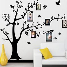3D DIY Photo Tree PVC Wall Decals Adhesive Wall Stickers Mural Art Home Decor is Personalized-NewChic Mobile.