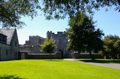 St Donats Castle - St Donat's Castle, Nr Llantwit Major, Vale of Glamorgan
