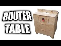 Learn how to build a router table for woodworking for under 10 in learn how to build a router table for woodworking for under 10 in this woodworking video for beginners this simple router table is a good startin greentooth Gallery