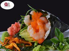 LA MEJOR COMIDA JAPONESA EN POLANCO. El cono Temaki, aunque no lo parezca, es una variedad de sushi. En Restaurante Kazuma contamos con distintos conos como: Cola amarilla, piel de salmón, camarón, hueva de erizo, hueva de pez volador y anguila. Le invitamos a deleitarse con el sabor de la mejor comida oriental en el mejor lugar. Le esperamos en Julio Verne #38, Colonia Polanco. #restaurantekazuma