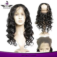 Frontal closure natural hairline hair piece wholesale full transparent lace frontal 360