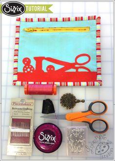 Sizzix Die Cutting Tutorial | Sewing Kit by Ebony Love