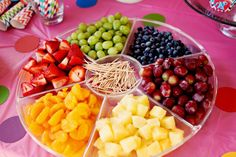 Rainbow Party Birthday Party Ideas | Photo 2 of 18 | Catch My Party