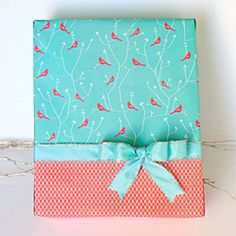 Gift wrapping techniques and ideas to make your packages extra special!