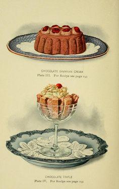 Lowney's Cook Book (Boston, Retro Recipes, Vintage Recipes, Victorian Recipes, Vintage Sweets, Vintage Food, Retro Food, Recipe Drawing, Vintage Cooking, Cookery Books