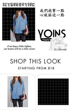 """""""Yoins"""" by gini-2 ❤ liked on Polyvore featuring yoins"""