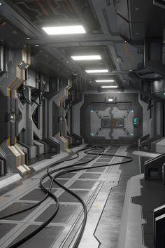 Sci Fi Modular Corridor