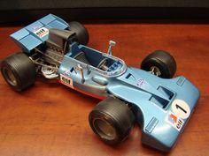 Vintage Schuco Tyrrell Ford Formula 1 Key Wind by SuburbanBlues