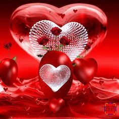 hearts and roses animated gif Love Heart Images, I Love You Pictures, Beautiful Love Pictures, Heart Pictures, Beautiful Gif, Romantic Pictures, Love Heart Gif, Love You Gif, Heart Wallpaper