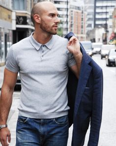 1 jacket, 4 ways... The off-duty look. Visit: https://www.clementsandchurch.co.uk #weekend #casualfashion #mensstyle