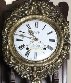 French Antique Morbier clock
