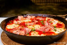 Mexikanisches Frühstück aus der Outdoor-Küche: Huevos rancheros. Einfach und sehr lecker.