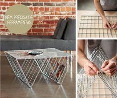 Casa de Colorir: Ideias para fazer a sua própria mesinha