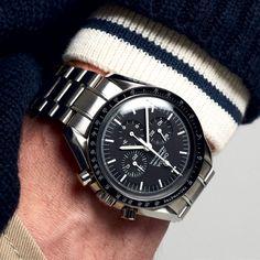 Modern Watches, Watches For Men, Wrist Watches, Men's Watches, Watch Belt, Wear Watch, Lapo Elkann, Omega Speedmaster Moonwatch, Speedmaster Professional
