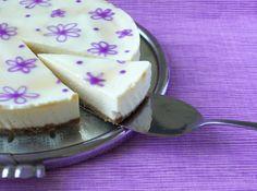 CHEZ LUCIE: Levandulový cheesecake