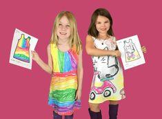 Et si vous transformiez les dessins de vos enfants en jolis vêtements colorés ?…