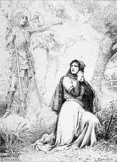 Joan D Arc, Saint Joan Of Arc, St Joan, Catholic Saints, Roman Catholic, Kyle Gray, Jeanne D'arc, French Army, Religious Art