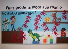 back to school bulletin board ideas   Twinkle Twinkle Little Star Kindergarten Bulletin Board Idea