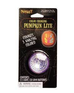 Color Change Pumpkin Light – Spirit Halloween