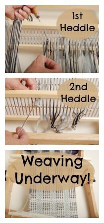 Fun and easy technique for creating mixed-density scarves using two rigid heddles, courtesy of Jane Patrick, former Handwoven editor. Weaving Textiles, Weaving Patterns, Tapestry Weaving, Card Weaving, Tablet Weaving, Inkle Loom, Loom Weaving, Art Du Fil, Peg Loom