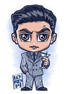 Howard Stark by Lord Mesa