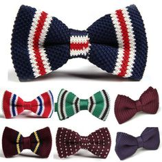 Obsessed with these colorful bow ties for the holidays!