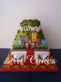 Hollywood Birthday Cake by Art Cakes, via Flickr