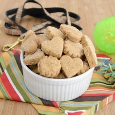 Sweet Pea's Kitchen » Chicken and Cheddar Dog Biscuits