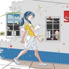 sokak:  lum and moroboshi ataru (urusei yatsura) drawn by uesuto (westriver) - Danbooru