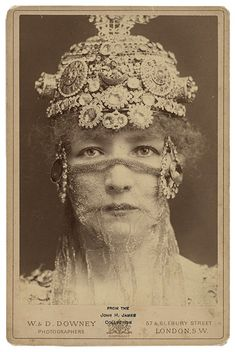 My intention has been to post a simple little article on the Divine Sarah. With Sarah Bernhardt it AIN'T that easy. Divine Sarah as the Empress of Byzantium Théodora by Sardou I was a pissy …