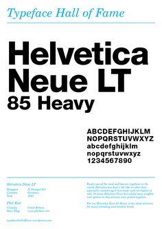 Helvetica Neue 85 Heavy